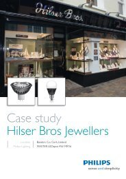 Case study Hilser Bros Jewellers - Philips Lighting