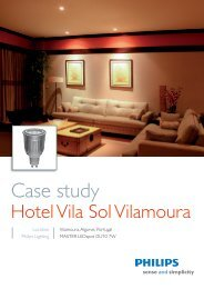 Case Study Hotel Vila Sol ENG.indd - Philips Lighting