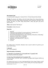 Styrelsesmødet i Flensborg, Christian Paulsen-Skolen, den 25 ...