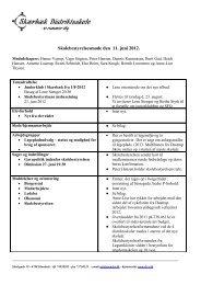 Referat 11.6. 2012 - Skærbæk Distriktsskole