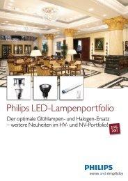 Philips LED-Lampenportfolio