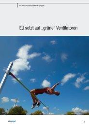 "EU setzt auf ""grüne"" Ventilatoren - ebm-papst"