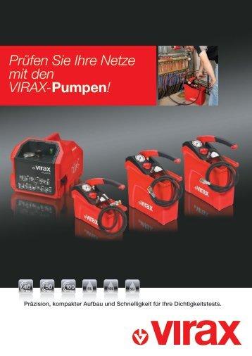 Prüfen Sie Ihre Netze mit den VIRAX-Pumpen!
