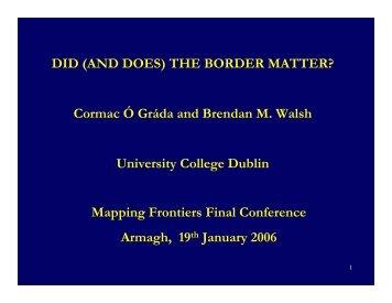 (Microsoft PowerPoint - Cormac \323 Grada Brendan Walsh1.ppt)