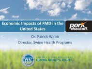 Economic Impacts of FMD in the United States