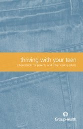 Thriving With Your Teen