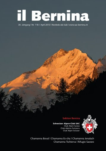 il Bernina - SAC Sektion Bernina