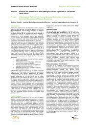 Infection and Inflammation Project: Inflammatory Pathways in ...