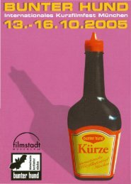 Postkarte 2005 - Kurzfilmfest