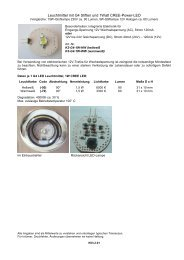 Konfektionierte LED-Leuchtmittel, Leuchten, Sets - simpLED