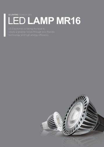 LED LAMP MR16 - LEDS.de
