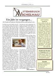 Erster Infobrief Mai 2011 - steinbruch-michelnau.de