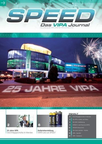 Das VIPA Journal - Vipa.com