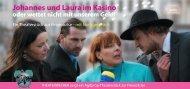 Johannes und Laura im Kasino oder wettet nicht ... - Legend Theater
