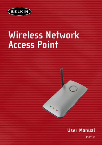 Wireless Network Access Point