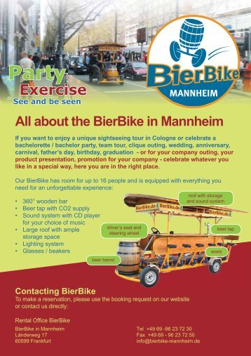 Exercise - Bierbike