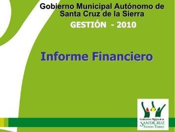ingresos - Santa Cruz de la Sierra