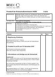 Protokoll 16.12.2010