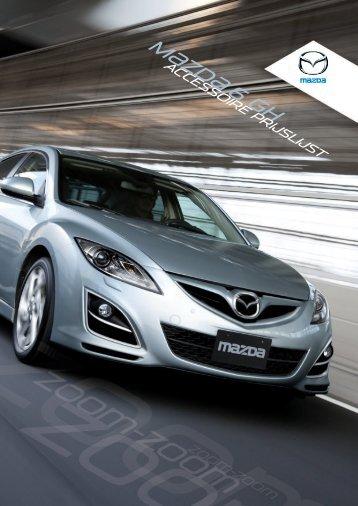 Mazda6 Accessoires Prijslijst