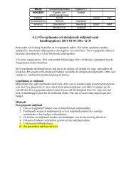 Microsoft Word - 4.3.3 \366vergripande och detaljerande m\345l.doc