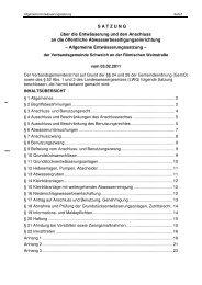 Allgemeine Entwässerungssatzung, 03.02.2011 - Schweich.vg ...