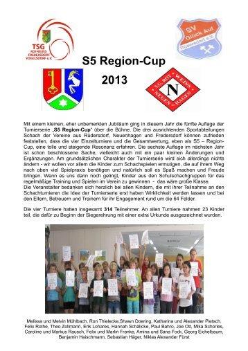 Bericht - SG Rot-Weiß Neuenhagen e.V., Abteilung Schach
