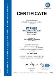 MAHLE Aftermarket GmbH - bt express