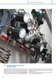 4.4 Gázellátó rendszer szerelvényeinek műszaki adatlapjai - Messer