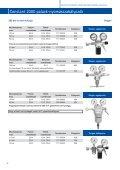 4.4 Gázellátó rendszer szerelvényeinek műszaki adatlapjai - Messer - Page 3