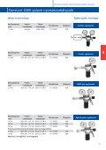 4.4 Gázellátó rendszer szerelvényeinek műszaki adatlapjai - Messer - Page 4