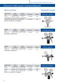 4.4 Gázellátó rendszer szerelvényeinek műszaki adatlapjai - Messer - Page 5