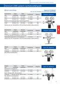 4.4 Gázellátó rendszer szerelvényeinek műszaki adatlapjai - Messer - Page 6