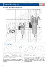 Teljesítmény diagram - a megfelelő nyomásszabályozó ... - Messer
