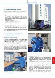 9.1 Teljeskörű gázellátási program - Messer