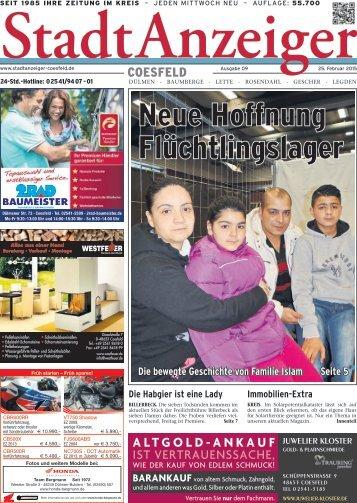 Stadt Anzeiger Coesfeld kw9