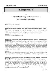 Kurzprotokoll zur öffentlichen Sitzung des ... - Lichtenberg