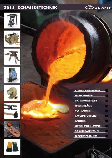 Angele Schmiedetechnik Katalog 2015