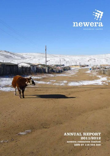 29/10/2012 - Annual Report - Newera Uranium Limited