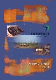 Annual Report 2011 - (Typeset) - Newera Uranium Limited
