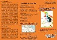 Die Haltung der Sozialen Arbeit in der Krise 13. April bis 6. Juli 2010 ...
