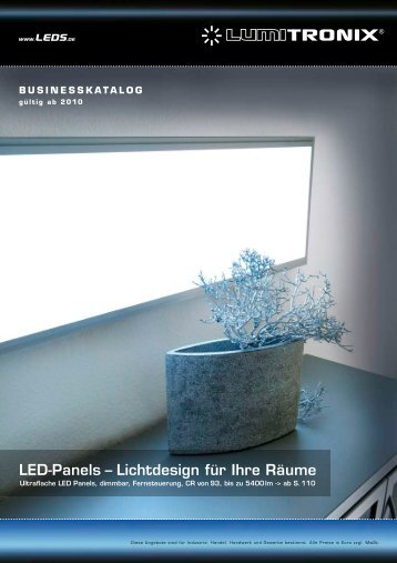 LED-Panels – Lichtdesign für Ihre Räume