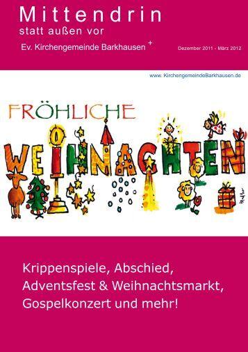 Advent und Weihnachten - Evangelische Kirchengemeinde ...