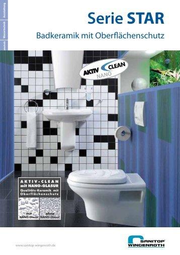 Serie STAR mit Aktiv-Clean-Glasur - Aizva