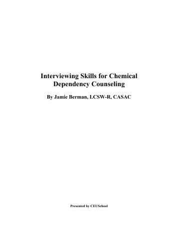 research papers on chemical dependency View chemical dependency research papers on academiaedu for free.