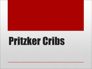 Pritzker Cribs - Pritzker School of Medicine