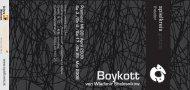 BoykottFlyer.pdf - Spielkreis Götzis