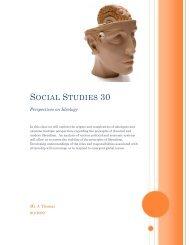 Social Studies 30