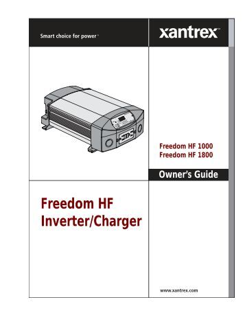 freedom-hf-inverter-charger-xantrex Xantrex Inverter Wiring Diagram on transfer switch, dc ac, solar cabin power, deminension ems12x25ab3r4t, for mallard power, camper power, dminension ems12x25ab3r4t, sunny boy, magnum rv,