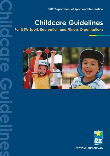 Childcare Guidelines - NSW Sport and Recreation - NSW Government