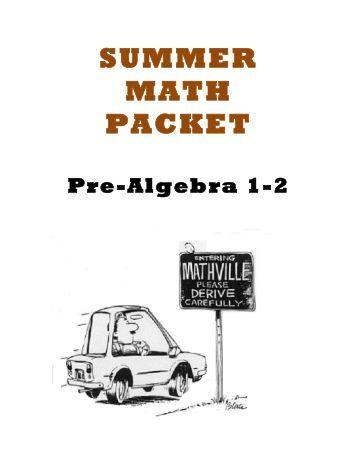 Algebra 2 Summer Packet Answer Key
